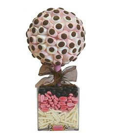 Marshmallow & choc buttons sweet tree by Sweet trees on secretsales.com