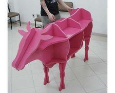 POP-Up- Stores-15 Animal-Shaped Furniture Designs #homedecor trendhunter.com
