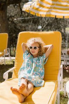 Girl's Flutter Sleeve Nightgown in Flower Child Kids Girls, Baby Kids, Real Moms, Effortless Chic, Kids Pajamas, Chain Stitch, Nightgown, Short Girls, Flutter Sleeve