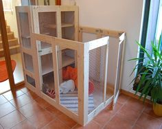 DIY rabbits cage