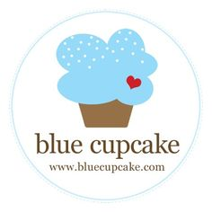 Blue Cupcake Logo by jdesmeules (Blue Cupcake), via Flickr