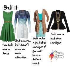 Belt it by imogenl on Polyvore