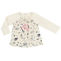 Billieblush - Baby All Over Print Shirt