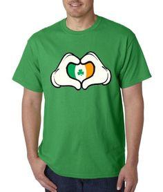 Irish Flag Heart Mickey Hands St Patrick's Day Shirt (X-Large, Green) The Flag Shirt http://www.amazon.com/dp/B00BJ536CE/ref=cm_sw_r_pi_dp_Q9aNwb19GK9CN