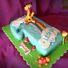 Bolo dos amiguinhos da Baby TV. Veja as fotos desta doçura aqui: wp.me/p57Txi-rx /// Baby TV´s friends cake. See the photos from this sweetness here: wp.me/p57Txi-rx   #BabyTV #Friends #Bolo #Cake #Oeiras #Portugal #CakeDesign