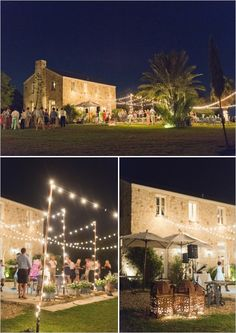 night time wedding reception..but I love it for a home