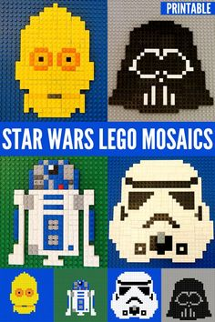 Star Wars Fun for Kids:Star Wars Lego Mosaics | Childhood101