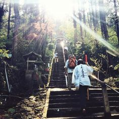 Shikoku Pilgrimage called Ohenro(お遍路) is to walk and visit the 88 temples in Tokushima, Kouchi, Ehime, Kagawa prefecture. The local government is insisting that the route qualifies for a UNESCO World Heritage site.