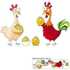 YO NO FUI ! - Cuadros infantiles - : Animales de granja