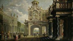 Great Garden Palace, by Dirck van Delen, 1640.