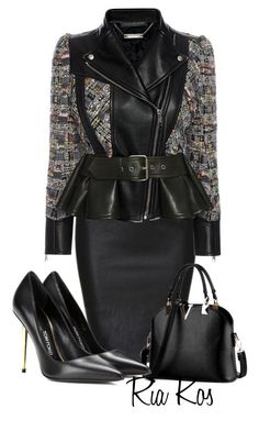 """""""work outfit"""" by ria-kos ❤ liked on Polyvore featuring Alexander McQueen and Tom Ford"""