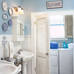 Combine Bathroom Laundry For Extra Space Dream Home Pinterest Bathroom Laundry Dryers And Laundry