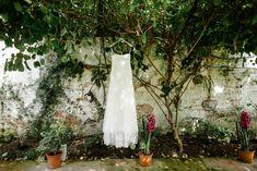 Jesus Peiro dress - Larchfield Estate Alternative wedding photographers