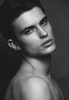 in black & white beautiful men faces, face s Beautiful Men Faces, Beautiful Boys, Beautiful People, Male Model Face, Face Structure, Male Models Poses, Black And White Face, Beauty Hacks Video, Male Beauty