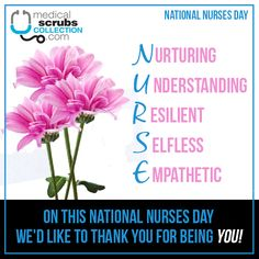 Happy National Nurses Day to all you dedicated nurses out there! National Nurses Day, Happy Nurses Week, Medical Scrubs, Medical Students, Wedding, Valentines Day Weddings, Mariage, Weddings, Marriage