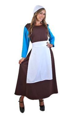 Adult Peasant Cinderella Dress (Size: Standard 8-12) Wilton http://www.amazon.com/dp/B009EVTF16/ref=cm_sw_r_pi_dp_B..wvb0B68X1N