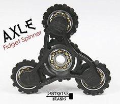 Fidget Spinner- AXLE - by DESTROYER Brands - Fidget Toy Anxiety Toy Stress Relief