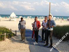 #Benjamin, #Thomas, #Samir, #Mike et #Alban prêts pour le #tournage du #generique #LesAnges5
