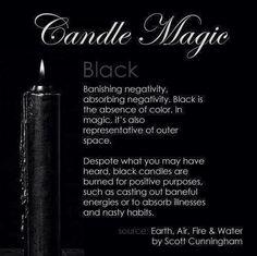 Candles:  #Candle Magic ~ Black.