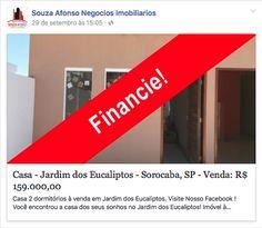 Ja pensou em sair do aluguel com apenas 5.900 de sinal?  24 horas a sua disposição no WhatsApp:   (15) 9.8129-4173 com RAFAELA (15) 9.9612-1015 com LOYSE (15) 9.9791-4149 com SOL (15) 9.9660-3324 com TIAGO (15) 9.9627-4646 com AMABILY  www.fb.com/souzaafonso / disponível para visitas: Domingo a Domingo e feriados, das 9h às 19h. www.souzaafonso.com  Creci.22838J