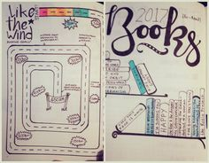 Knitter Nerd Bullet Journal: running and books