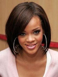 inspired rihanna bob hair for african american women hairstyles 2012