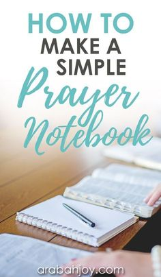 Check out these tips for how to make a prayer journal for beginners. Get great prayer journal ideas and tips for how to start. Prayer Scriptures, Faith Prayer, Prayer Quotes, Bible Verses, Prayers In The Bible, Prayers For Hope, Everyday Prayers, Christ Quotes, Bible Art