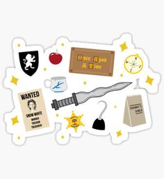Ouat stickers featuring millions of original designs created by independent artists.