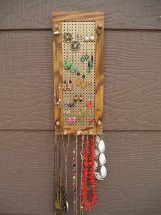 jewelry organizer jewelry holder jewelry by EventyrWoodworking, $28.00