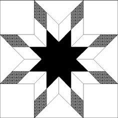 Quilt Block Black and white quilts Quilt block patterns Quilt blocks