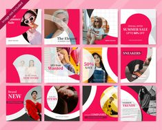 More than 3 millions free vectors, PSD, photos and free icons. Exclusive freebies and all graphic resources that you need for your projects Social Media Ad, Social Media Banner, Social Media Branding, Social Media Pages, Social Media Template, Social Media Design, Social Media Graphics, Facebook Layout, Instagram Feed Layout