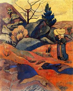 The Athenaeum - SÉRUSIER, Paul French ( 1863-1927)_Rocks in Huelgoat - 1891