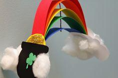St. Patrick's Day Rainbow Craft