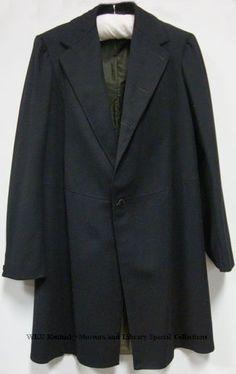 Man's frock coat (front view)