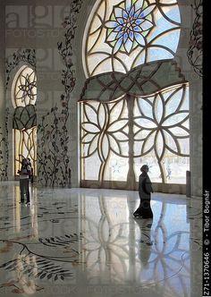 Emiratos Árabes Unidos, Abu Dhabi, jeque Zayed bin Sultan Al-Nahyan, interior,