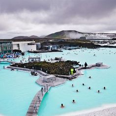 Our day of relaxing in The Blue Lagoon Geo-Thermal Spa, in Iceland - Europe's best spa destination.