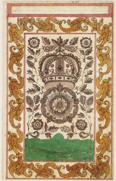 Thomas Trevelyon Miscellany.  1608.  Folger.