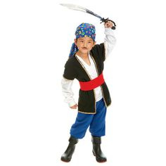 She wants to be a pirate...I don't want to spend a whole lot on a costume!