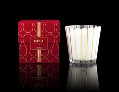 My absolute favorite Holiday fragrance! New Holiday 4-Wick Grand Candle by NEST Fragrances #Candles #Gifts #CreateHolidayMagic