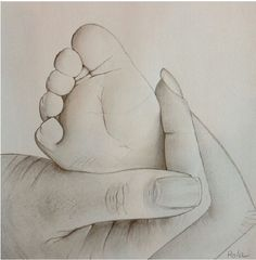 22 Ideas For Baby Drawing Sketches Mom Baby Drawing, Painting & Drawing, Crayon Painting, Drawing Hands, Drawing Drawing, Pencil Art Drawings, Cute Drawings, Pencil Sketching, Drawing Sketches