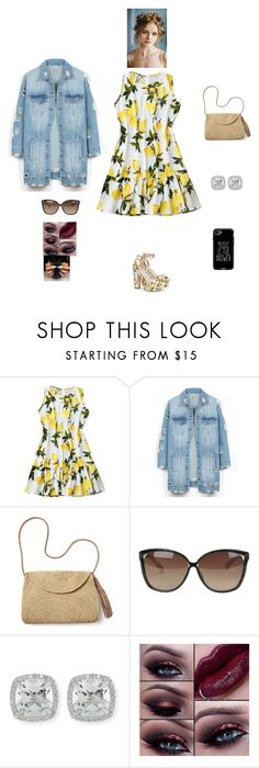 """K B M E"" by queen-kaitlyn ❤ liked on Polyvore featuring LE3NO, Mar y Sol, Linda Farrow, Frederic Sage and Casetify"