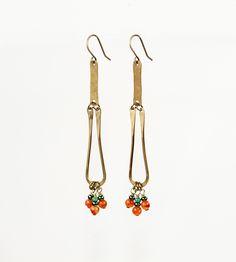 Paduang Brass Drop Earrings | Jewelry Earrings | AMiRA Jewelry | Scoutmob Shoppe | Product Detail