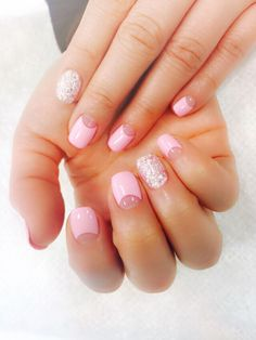 Pink French Nail Art  From. Bloomingnails