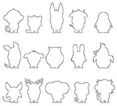Animaux Silhouette, Math, Animaux, Photography, Drawing Drawing, Math Resources, Mathematics, Silhouettes