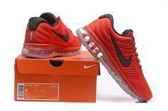 new product c50b1 22c94 Original Nike Air Max 2017 Men Red Mesh Online Discount