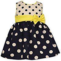 Bonnie Baby Baby Girls' Dot Poplin Party Dress