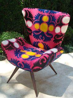 Frida chair print