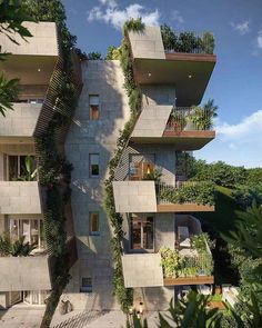 Milan is more and more a green city. Uptown Gardens by Green Stone Funds . – Architecture is art Architecture Design, Cultural Architecture, Green Architecture, Facade Design, Futuristic Architecture, Concept Architecture, Sustainable Architecture, Residential Architecture, Amazing Architecture