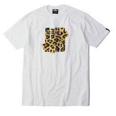 "Roar to the streets and be Undefeated! Undefeated Undftd ""Five Strike Leopard Camo"" T-Shirt Collection available at fusionswag.com #fusionswag #Undefeated #tees #tshirt #streetfashion #streetwear #urbanwear"