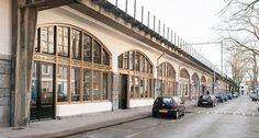 De gerestaureerde Hofbogen. Foto: Johannes van Odé